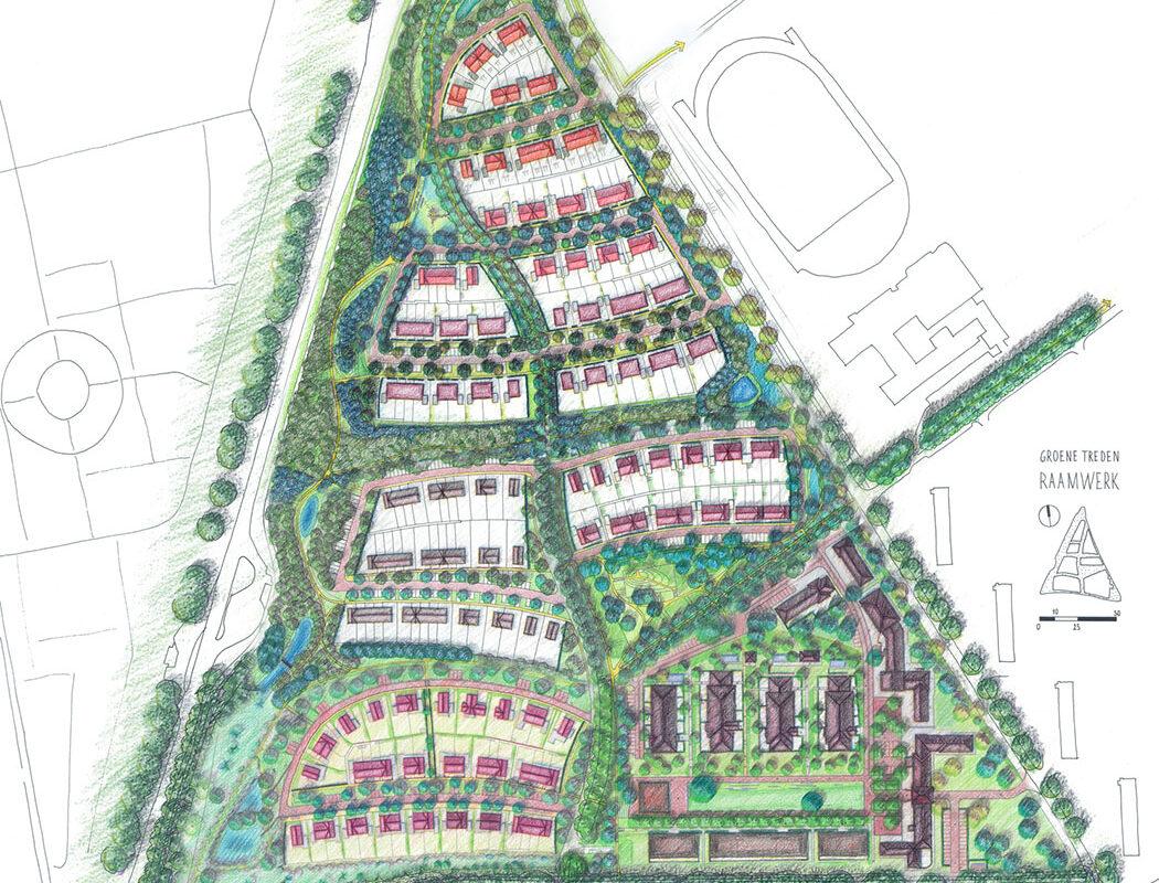 Stedenbouwkundige uitwerking deelgebieden